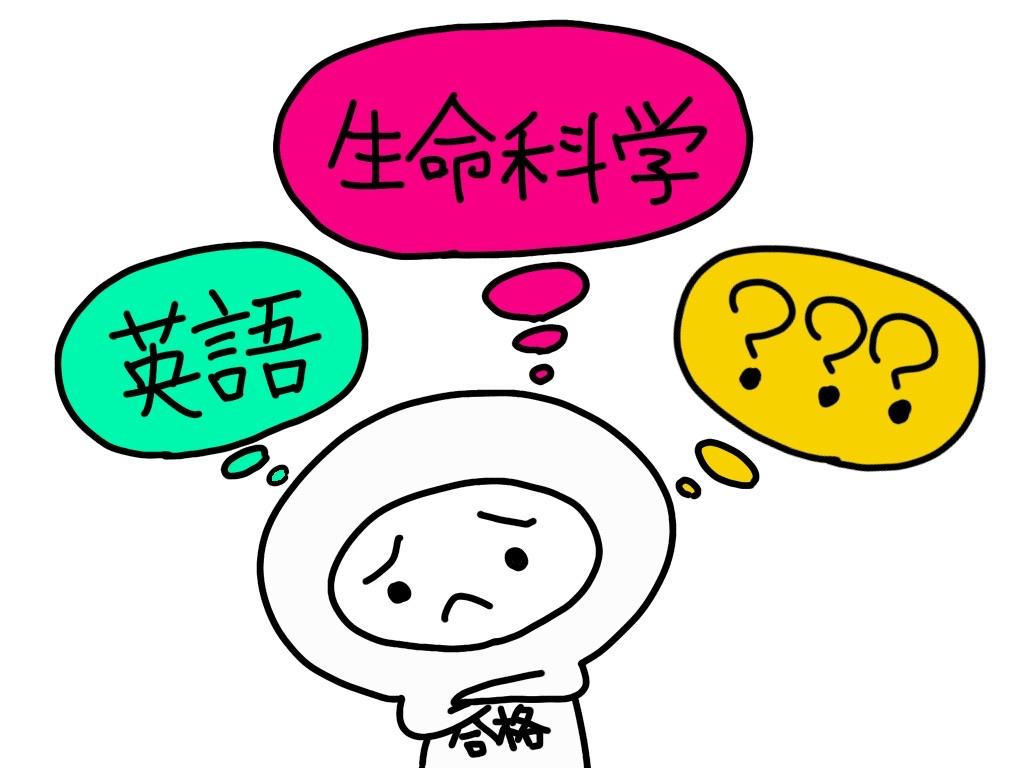 医学部学士編入試験合格には、生命科学?英語?.....それとも?