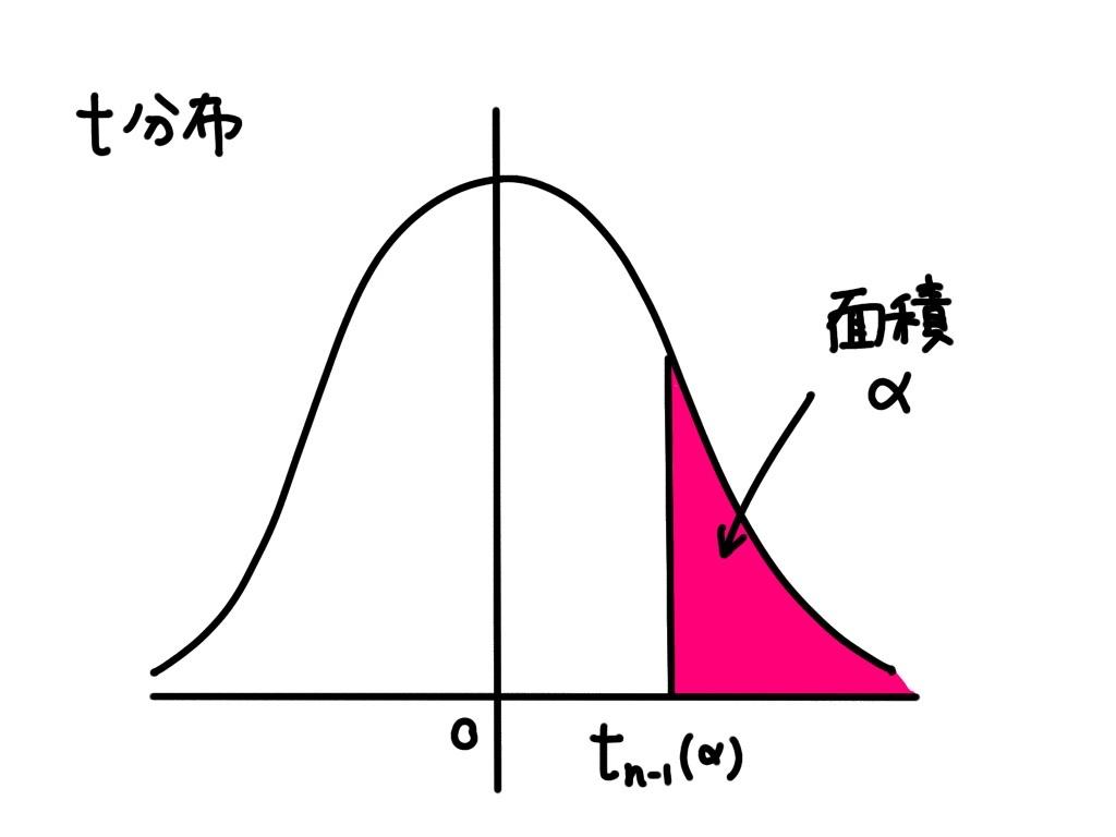 t 分布表とその見方
